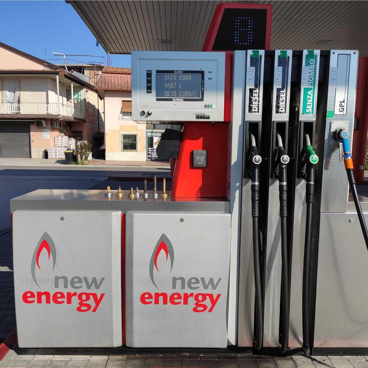 Erogatore New Energy frosinone