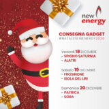 Date consegna gadget natale newenergy 2020